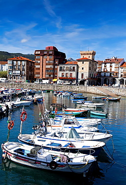 Port of Castro Urdiales, Cantabria, Spain