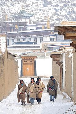 China, Gansu, Amdo, Xiahe, Monastery of Labrang Labuleng Si