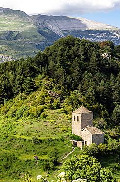 Fajanilla chapel S  XVI  Tella, Huesca, Pyrenees, Spain
