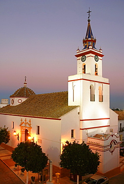 Church of Santa Maria de Las Nieves, Villanueva del Ariscal, Seville-province, Spain