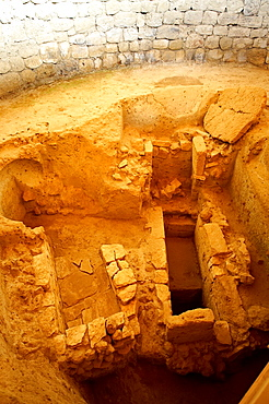 Mycenaean tholos tomb  1300 B C   at the outskirts of the village Tzanata, near Poros in south-eastern Kefalonia, Ionian Islands, Greece