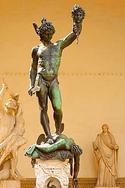 Statue Of Perseus with the head of Medusa by Cellini, The Loggia, Florence, Italy