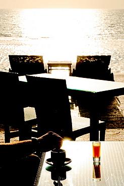 Kempinski Hotel, Dead Sea, Jordan, Middle East.