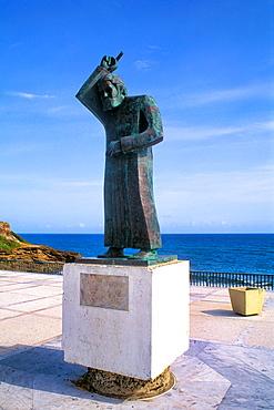 Statue of Juan Bautista Capital of Old San Juan Puerto Rico