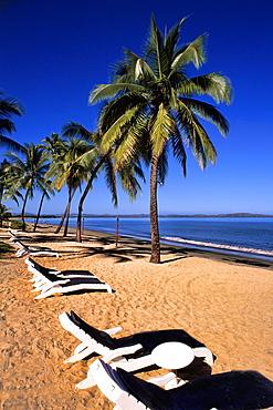Sheraton Beach and Palms Nadi Bay Area in the Fiji Islands