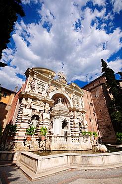 Italy, Lazio, Tivoli, Villa d¥Este, Fountain of the Hydraulic Organ or Fontana dell¥Organo