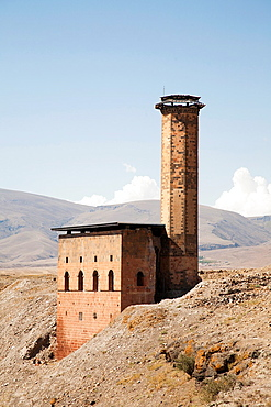 Menucer Mosque, Ani Ruins, Kars Area, North-Eastern Anatolia, Turkey, Asia