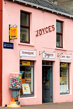 A newsagents in Clifden, Connemara, Co Galway, Ireland