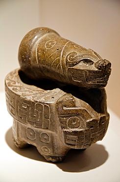 Stone mortar Chavin culture 900 BC-200 BC Peru