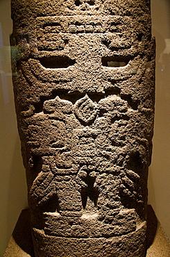 Stone stele from Pacopampa Chavin culture 900 BC-200 BC Peru