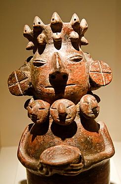 Ceramic vessel Vicus culture 100 BC-400 AC Peru