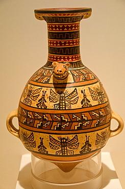 Ceramic vessel Inca culture 1438 AC-1572 AC Peru