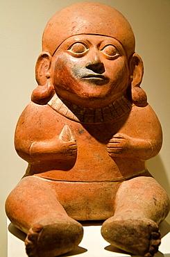 Ceramic vessel, erotic art Moche culture 100 AC-800 AC Peru