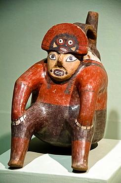 Ceramic vessel Nazca culture 100 BC-800 BC Peru