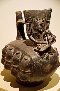Ceramic vessel Chimu culture 1100 AD- 1470 AD Peru