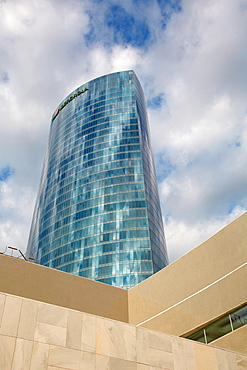 University of the Basque Country Library, Iberdrola tower, Bilbo-Bilbao, Biscay, Basque Country, Spain.