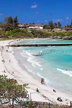 Cuba, Havana Province, Playas del Este, Playa Jibacoa beach