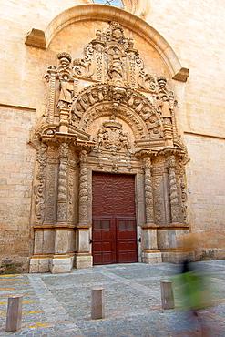 Church of Monti-Sion, XVI-XVII century, Es Call, Jewish district, Palma Mallorca Balearic Historic center Spain