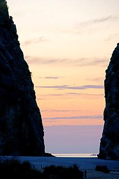 Torrent de Pareis Sa Calobra Escorca Mallorca Illes Balears Espana