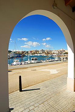 port of Cala Ratjada Mallorca Baleares Spain Llevant