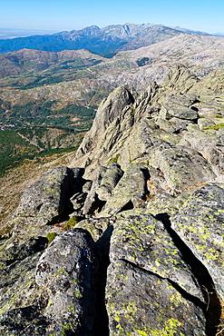 Sierra de Gredos from the Torozo peak avila Castilla Leon Spain
