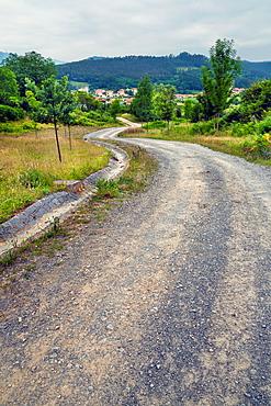 Road to Rasines Santander Cantabria Spain