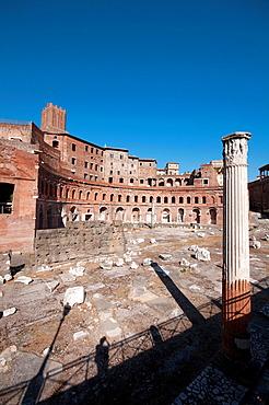 Italy, Lazio, Rome, Foro Traiano, Trajan Market