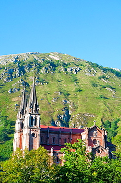 Basilica. Covadonga, Asturias, Spain.