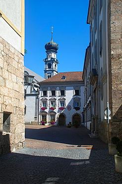 Austria, Hall in Tirol Jesuit church
