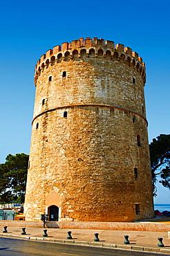 The Ottoman White Tower of Thessaloniki 1535 1536, symbol of Thealonika Greece
