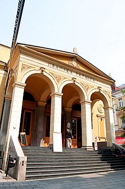 Central Town Market building, Sarajevo, Bosnia and Herzegovina