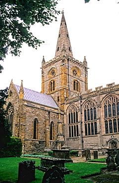 William Shakespeare¥s church Holy Trinity Stratford Upon Avon England