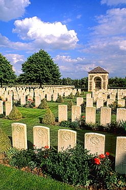 France Beautiful La Chapellette British and Indian Cemetery WWI in France