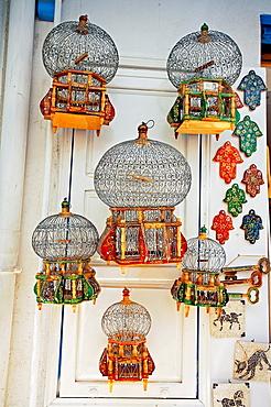 Bird Cages, Medina, Tunis Tunisia.