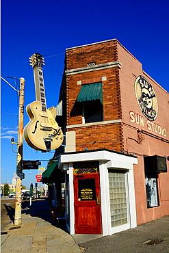 Sun Records Music Studio Elvis Presley Memphis Tennessee TN