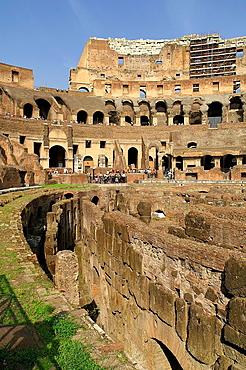 Roma Italia Interior del Coliseo de la ciudad de Roma The interior of the Colosseum in Rome