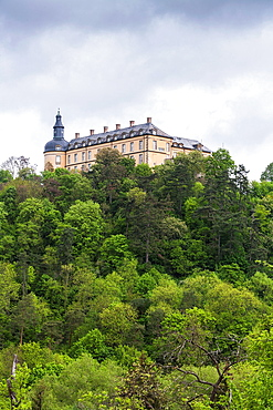 Friedrichstein Castle in Bad Wildungen on the German Fairy Tale Route, Hesse, Germany, Europe
