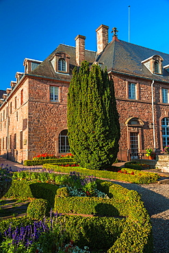Monastery at Mont Saint-Odile, Alsace, France, Europe