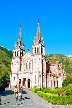 Basilica. Covadonga, Asturias province, Spain.