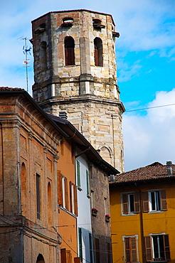 Octagonal bell tower 1537 of Chiesa di San Prospero church old town Reggio Emilia city Emilia-Romagna region northern Italy Europe