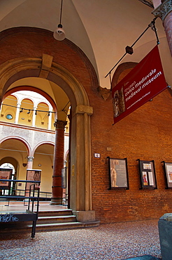 Museo Civico Medievale the Medieval museum central Bologna city Emilia-Romagna region northern Italy Europe