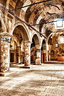 St Constantine and Helena Church, Interior, Mustafapasa, Cappadocia, Anatolia, Turkey