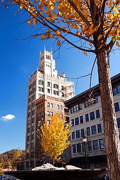 Jackson Building near Pack Square, Asheville, North Carolina USA