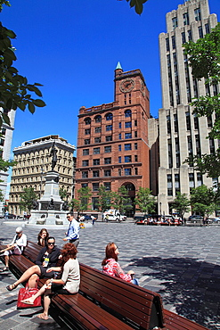 Canada, Quebec, Montreal, Place dArmes,