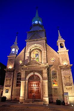 Canada, Quebec, Montreal, Notre-Dame-de Bon-Secours, chapel,