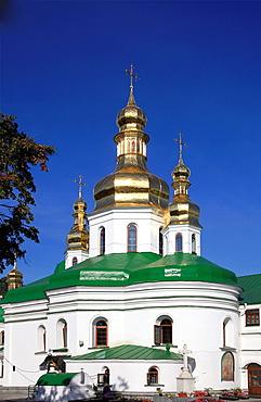 Ukraine, Kiev, Kyiv, Kyevo-Pecherska Lavra, monastery, Lower Lavra, Church of the Raising of the Cross,