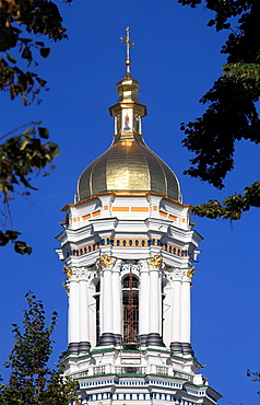 Ukraine, Kiev, Kyiv, Kyevo-Pecherska Lavra, monastery, Upper Lavra, Great Bell Tower,