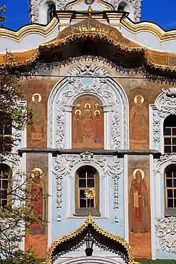 Ukraine, Kiev, Kyiv, Kyevo-Pecherska Lavra, monastery, Upper Lavra, Trinity Gate Church,