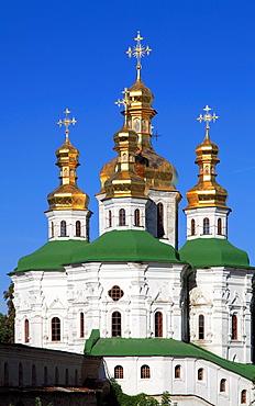 Ukraine, Kiev, Kyiv, Kyevo-Pecherska Lavra, Church of All Saints,
