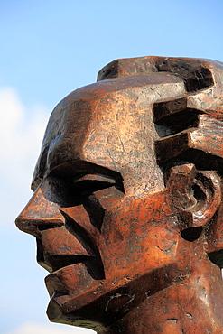 Romania, Timisoara, Bela Bartok, composer, statue,